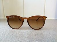 Ray Ban Erika Sunglasses RB4171 (brown frame and lens)