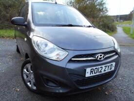 2012 12 HYUNDAI I10 1.2 CLASSIC 5D 85 BHP ** YES ONLY 21,824 MILES **