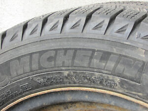 4 Michelin X-Ice Winter Tires & Rims