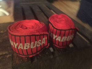 hayabusa Muai Thai hand wraps