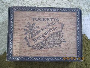 Vintage Marguerite Cigar box