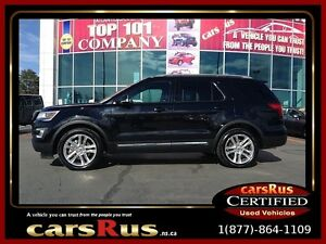 2016 Ford Explorer 7 Passanger 4x4 Leather Sunroof Navigation