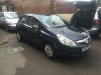 2007/07 Vauxhall Corsa 1.2i 16v Life 5dr h/b Ideal 1st Car New Shape SALE £2995