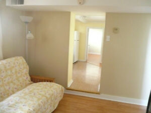 Sublet for July and August -Bright basement apt in West End Hfx