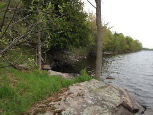 21 Acre Waterfront Property,  Perfect for Cottage or Estate Home