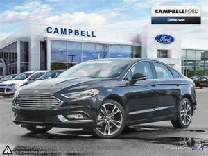 2017 Ford Fusion Titanium AWD-LEATHER-HETES AND COOLED LEATHER S