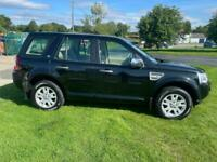 LAND ROVER FREELANDER 2.2 SD4 AUTO XS 190ps 4X4 BLACK ONLY 40000 MILES 2 OWNERS