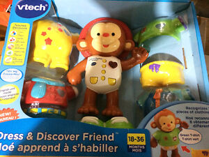 Vtech Dress and Discover Friend Brand New