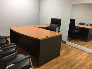 MAIN FLOOR Brand NEW Office for Rent.....in VERY Busy PLaza
