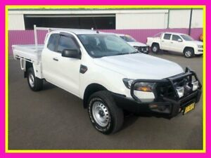 2016 Ford Ranger PX MkII XL 3.2 (4x4) White 6 Speed Manual Super Cab Chassis Dubbo Dubbo Area Preview