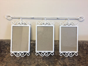 Shabby chic picture frames vintage ornate mirror