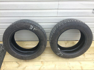 2 Goodyear winter tires, like new