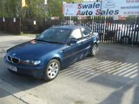2002 BMW 3 SERIES 2.0 318I SE 4 DOOR AUTO 141 BHP