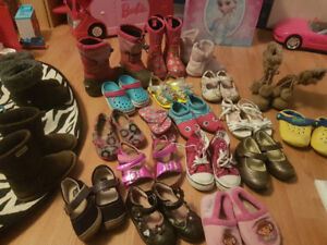 lot of toddler shoes for sale size 8 and 9