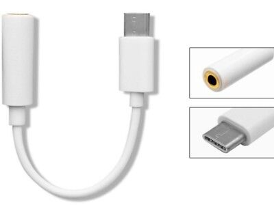 1 Cable AUX 3.5mm Jack Auriculares Adaptador UBS tipo C type c...