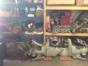 Volvo Penta 280 SP Leg, 270 Legs and parts, AQ 131 Engine/Parts.