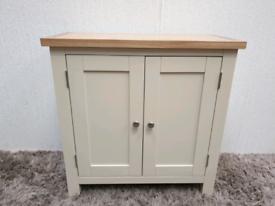 Brand New Oak Sideboard Unit Cupboard Beige Ex Display Furniture