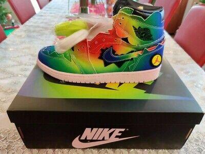 Air Jordan 1 J Balvin Sneaker Shoes