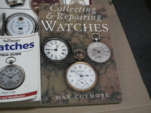 COLLECTER AND REPAIR WATCH  BOOKS MINT .