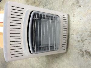Propane wall heater