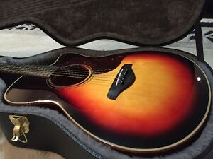 YAMAHA PROFESSIONAL SERIES AC3M ACOUSTIC / ELECTRIC GUITAR