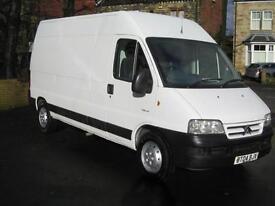 2004 CITROEN RELAY 2.8 HDi LWB High Roof Diesel Van