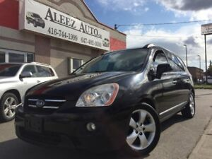 2008 Kia Rondo EX, 7 SEATER, LEATHER, SUNROOF. HEATED SEATS