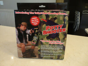2 New Potty Shooters Toilet Time Shooting Game For Avid Shooters