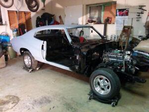 1970 chevelle new build .. 61 vw dune buggy