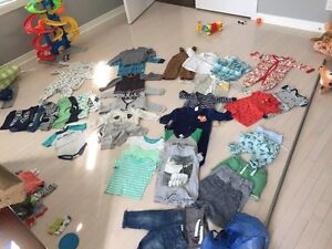Baby boy clothes 3-18 months