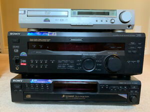 Sony Stereo system - excellent condition, incl. manuals/remote