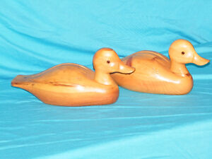 Assorted Carved Wooden Ducks Kitchener / Waterloo Kitchener Area image 1