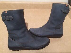 Women's *art Waterproof Always Dry Feet SympaTex Boots Size 6.5