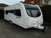 Sterling Eccles Elite Searcher. 4 Berth. Twin Axle. One Owner. Air Con. FSH