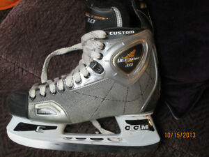 3 times used skates $25 size 6 1/2(40)