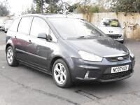 Ford C-MAX 1.6TDCi 2007, Zetec, BLue, 6 Months AA Warranty, 1 Years Mot
