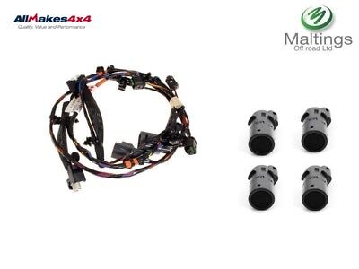 discovery 3 parking sensor wiring loom + sensor kit discovery 3 pdc kit front