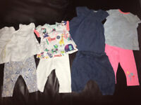 Baby girl bundle summer clothes newborn
