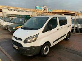 2012 Ford Transit Custom 2.2 TDCi 100ps CREW VAN SIX SEATS COMPANY OWNED FAMILY