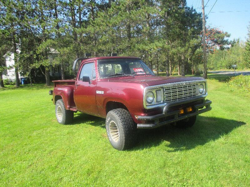 Dodge Power Wagon 1978 | Voitures d'époque | Ville de ...