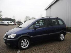 Vauxhall/Opel Zafira 1.8i NJOY Left Hand Drive(LHD)