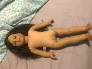 American Doll Girl with braces-EUC