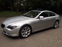 Bmw 645ci silver stunning cheap car bargain