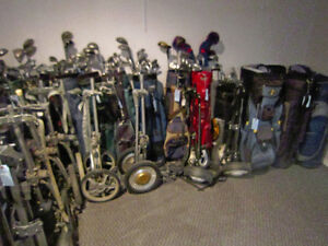 ENTIRE STOCK OF Used GOLF SETS, BAGS,CARTS ETC. ETC. !!!!! London Ontario image 4