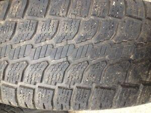 4 pneu hiver wintercat 275-60-r20