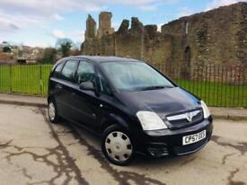2007 (57) Vauxhall Meriva 1.6i 16v ( a/c ) Life ** 80k ** New Mot On Purchase **
