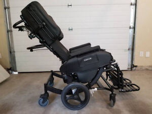 *** almost new *** Broda Synthesis Tilt Recliner Wheelchair