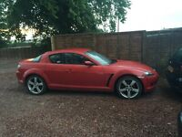 Mazda RX8 spares or repair £500