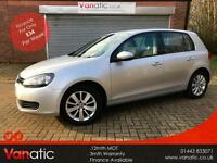 2011/11 Volkswagen Golf 2.0TDI ( 140ps ) DSG Match, 3mth Warranty