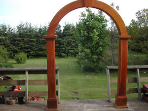 Solid Wood Pine Arch